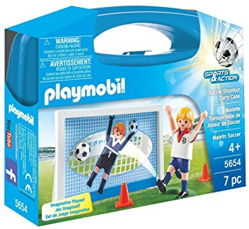 PLAYMOBIL Carry Case Soccer Shoot Out 5654