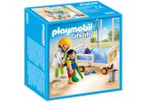 PLAYMOBIL City Life Medical Doctor with Child's Room 6661