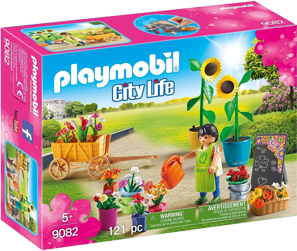 PLAYMOBIL Shopping - Florist 9082