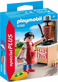 PLAYMOBIL Kabab Grill Vendor 9088