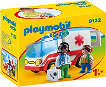 PLAYMOBIL 123 - Ambulance 9122