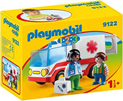 PLAYMOBIL 123 - Ambulance -  9122