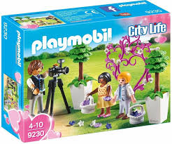PLAYMOBIL City Life Wedding Photographer with Flower Children 9230