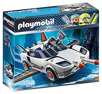 PLAYMOBIL Top Agents - Agent P.'s Spy Racer 9252