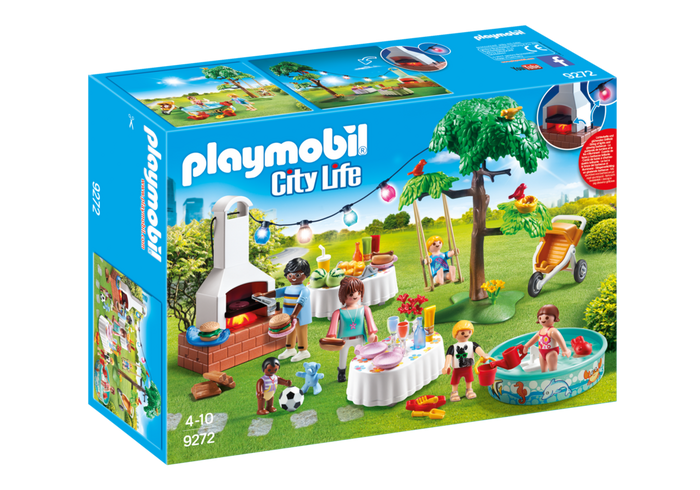 PLAYMOBL City Life - House Warming Party 9272