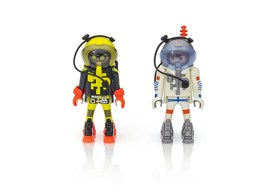 PLAYMOBIL Space - Astronauts - Twin Pack - 9448