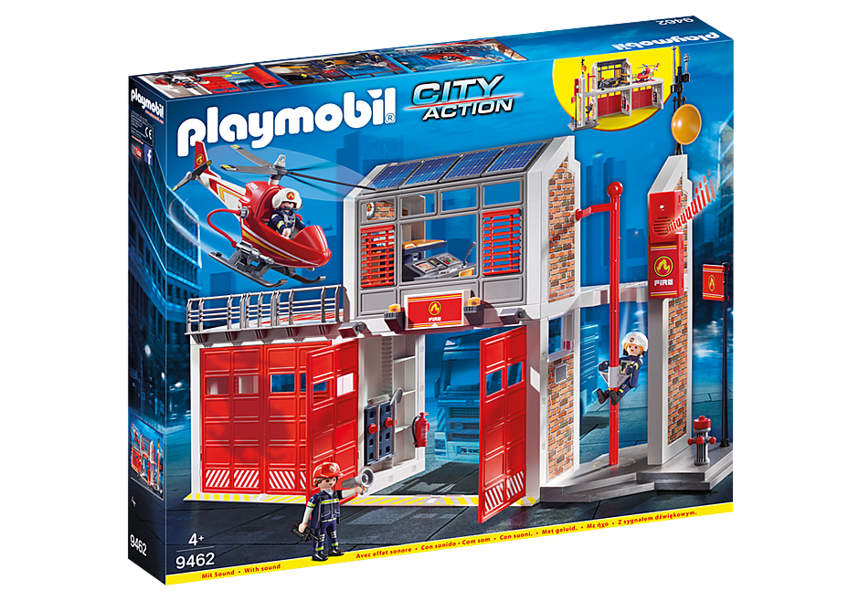 PLAYMOBIL City Action Fire Station - 9462