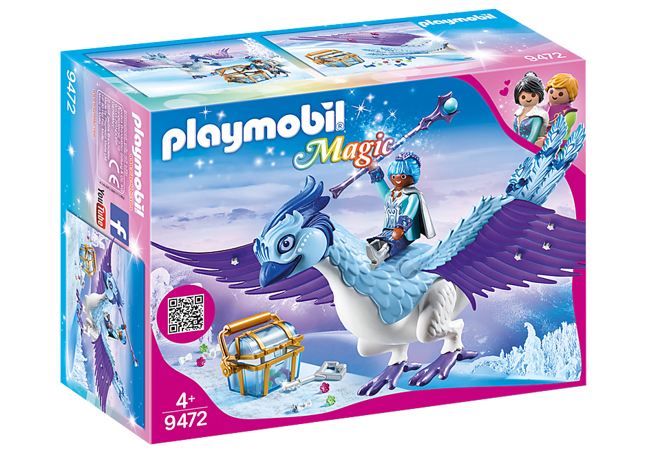 PLAYMOBIL Princess - Winter Phoenix 9472