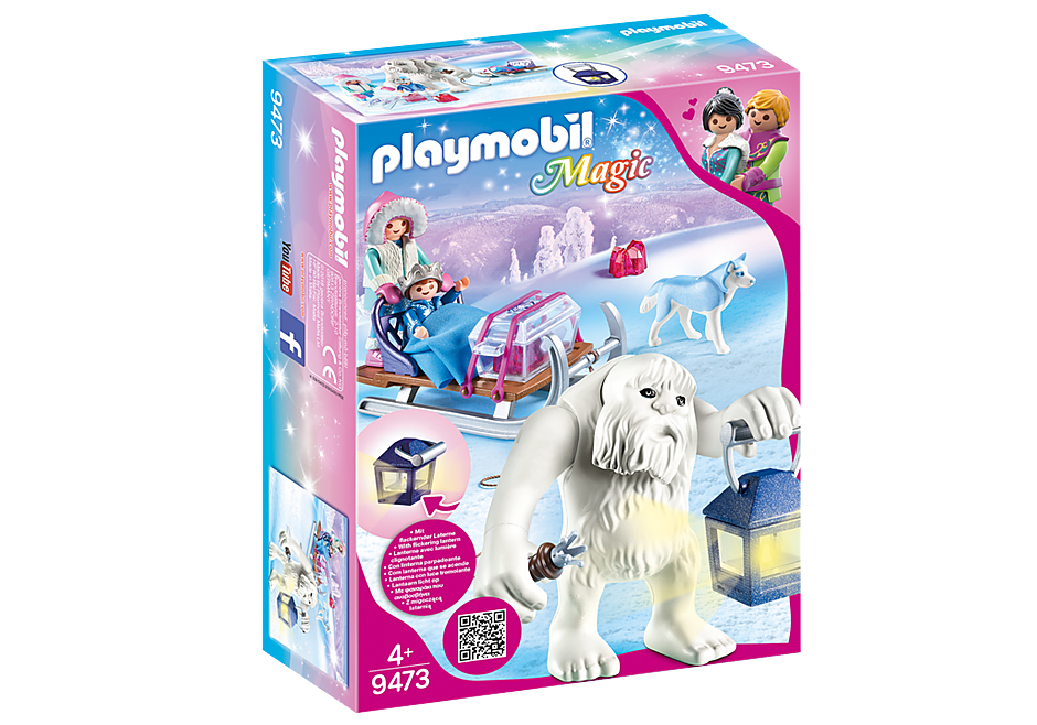 PLAYMOBIL Princess - Winter Yeti with Sleigh 9473