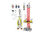 PLAYMOBIL Space -  Mission Rocket with Launch Sit- 9488
