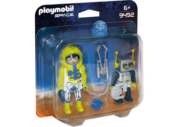PLAYMOBIL Space - Astronauts & Robot 9492