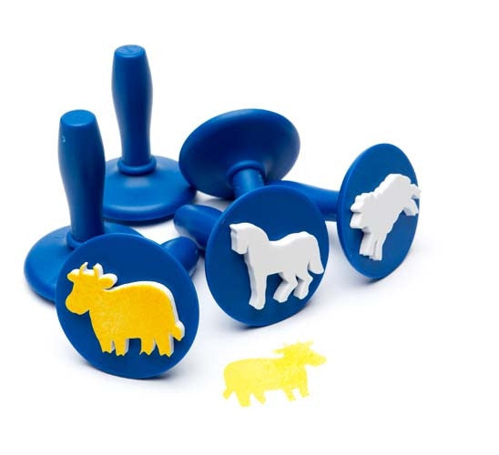 EC Paint and Dough Stamper Set Farm