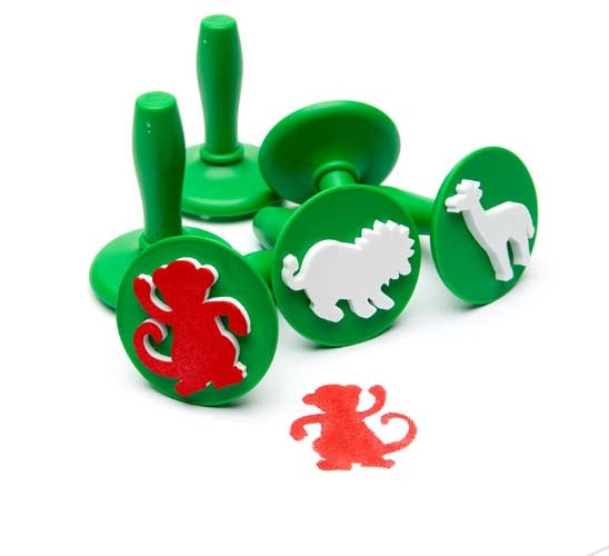 EC Paint and Dough Stamper Set Jungle Animals