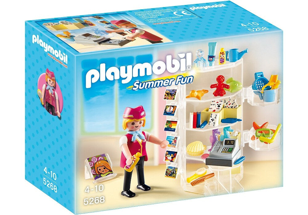 PLAYMOBIL Summer Fun Hotel Shop 5268