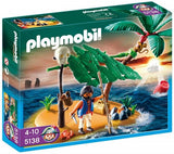 PLAYMOBIL Pirates Castaway on Palm Island 5138