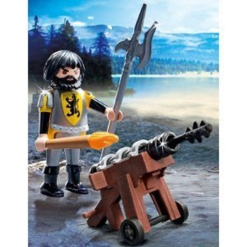 PLAYMOBIL Knight Lion Gunner 4870