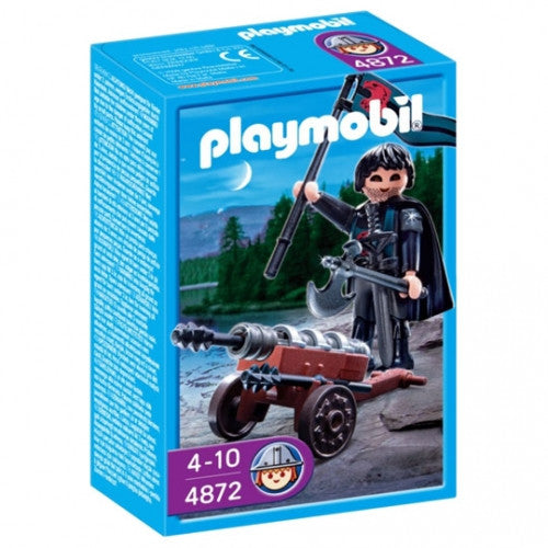 PLAYMOBIL Knights Robbing Knights with Cannon 4872