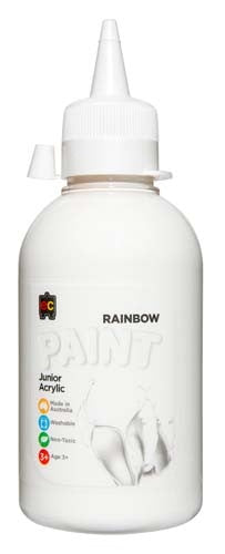 EC Rainbow Paint 250ml White