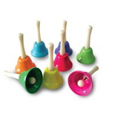 ARITWOOD Rainbow Hand Bells
