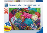 Ravensburger - Knitting Notions Large Format Puzzle 300pc