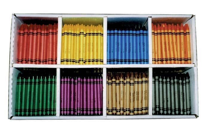 EC Crayons Best Value Box 800