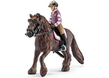 SCHLEICH Pony riding set