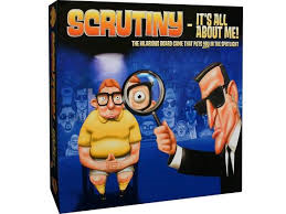 SCRUTINY It's All About Me Board Game