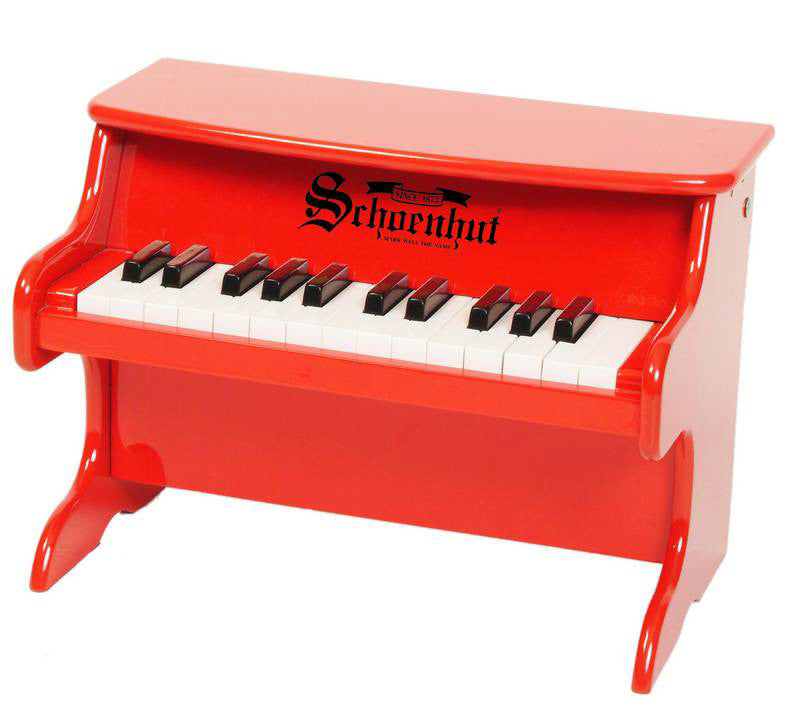 SCHOENHUT PIANO RED
