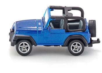 SIKU - Jeep Wrangler  - Blister Pack Single