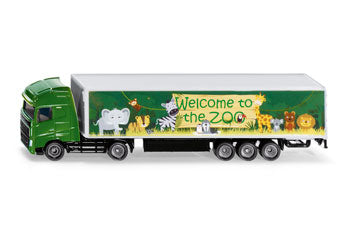 SIKU -  MAN Truck & Trailer - Zoo  - 1:87 Scale
