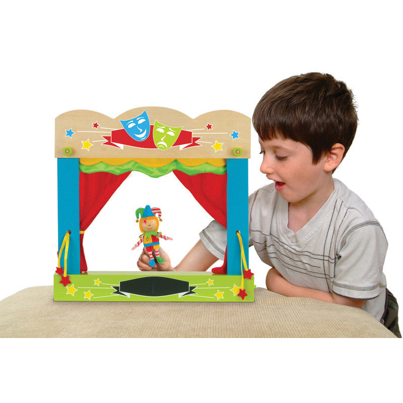 FIESTA CRAFTS Puppet Theatre Tabletop