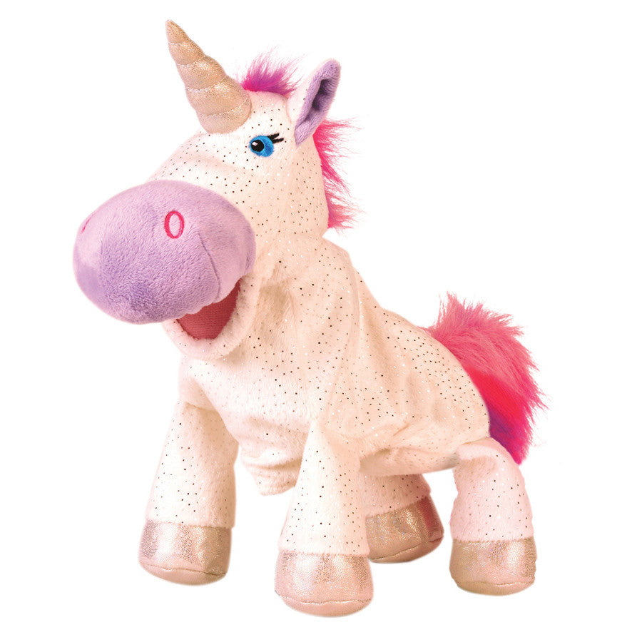 FIESTA CRAFTS Hand Puppet Unicorn
