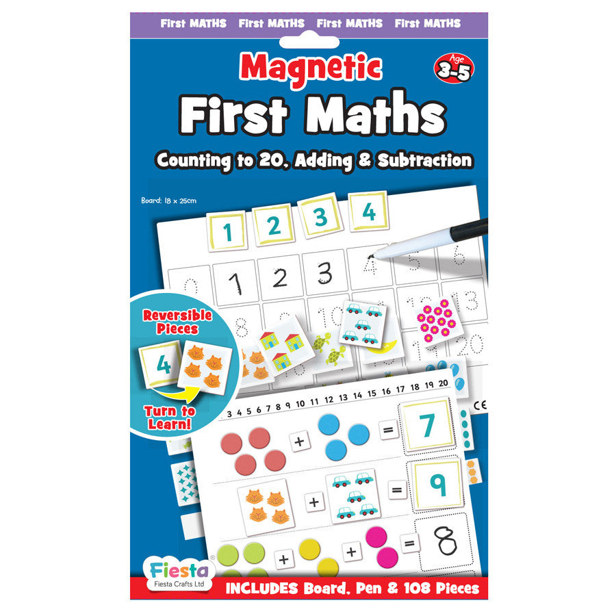 FIESTA CRAFTS Magnetic Chart - First Maths