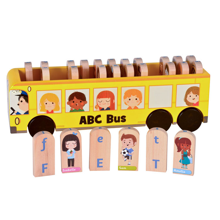 FIESTA CRAFT ABC Bus - Wooden