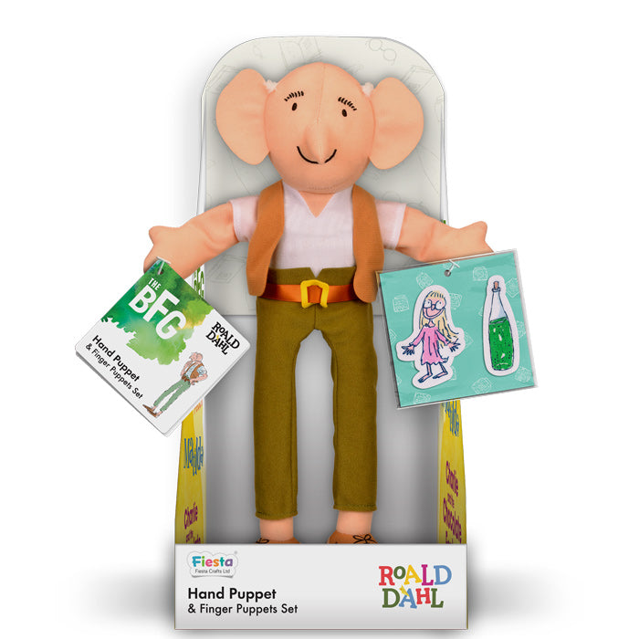 FIESTA CRAFTS Hand Puppet Set - Roald Dahl the BFG