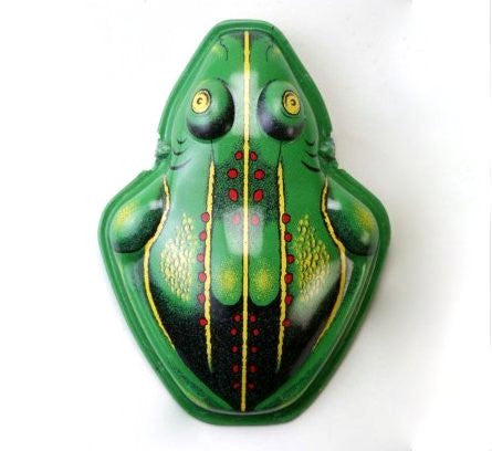 K&F Tin Toy Frog Clickers