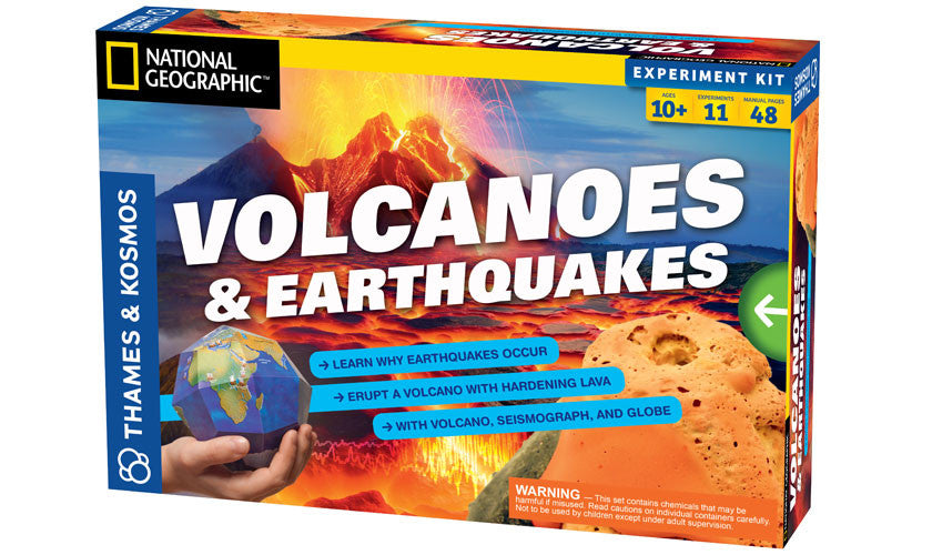 THAMES & KOSMOS - Volcanoes and Earthquakes Kit