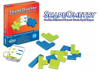 ThinkFun Shapes Ometry Game