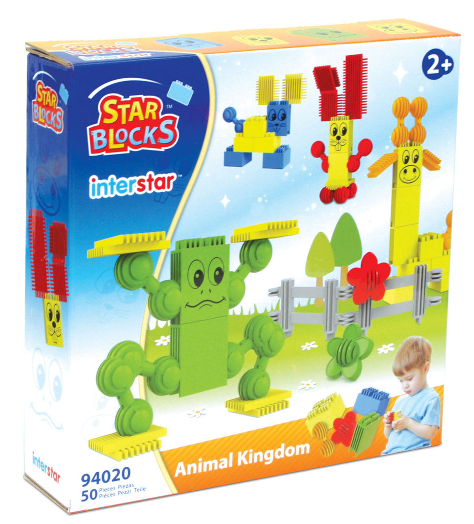 Interstar Construction - Star Blocks - Animal Kingdom - 50 pce