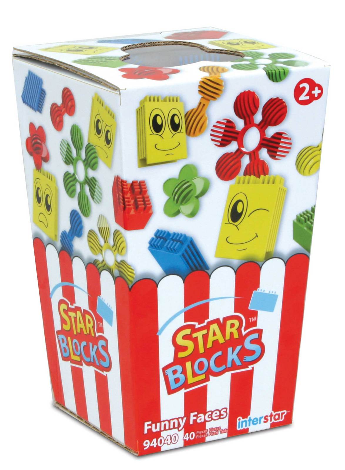 Interstar Construction - Star Blocks - Popcorn Set - 40 pc
