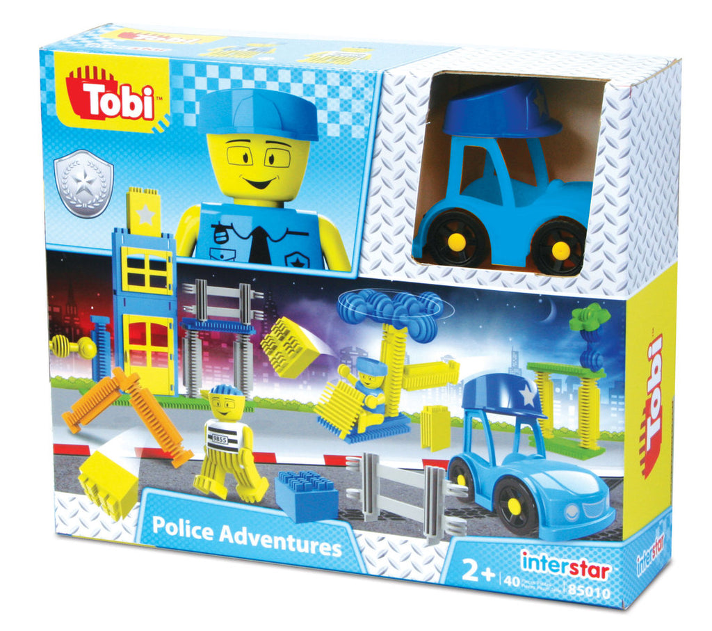 Interstar Construction - Tobi Police Adventures - 40 pce