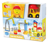 Interstar Construction - Tobi the Builder - 45 pce -