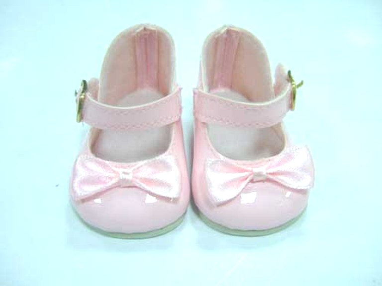 DRESS MY DOLL Shoes Mary Jane Pink