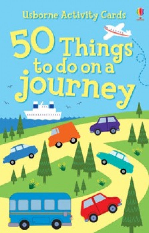 USBORNE 50 Things to do on a Journey Activity Cards
