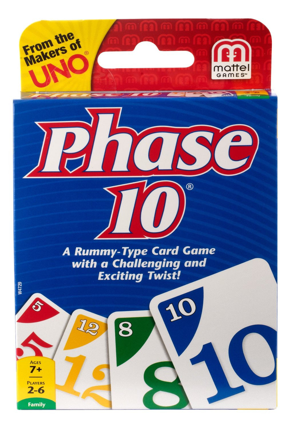 VENTURA GAMES Phase 10 Card Game