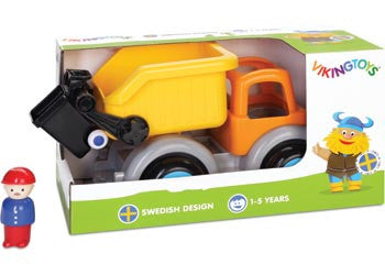 VIKING TOYS Jumbo Garbage Truck With Figure