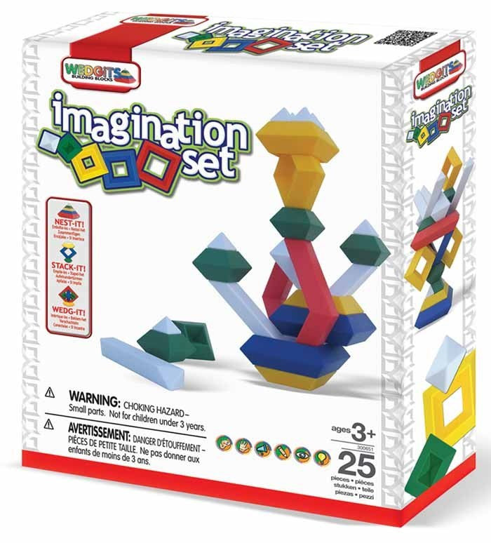 WEDGITS Buillding Set Imagination 25pc