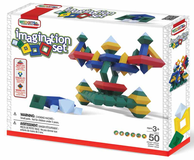 WEDGITS Buillding Set Imagination 50PC