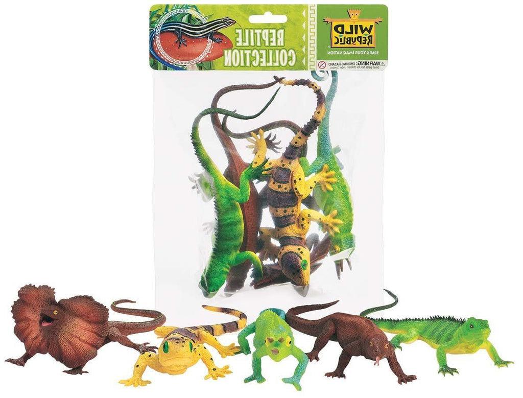 WILD REPUBLIC Bags Reptiles 4pc