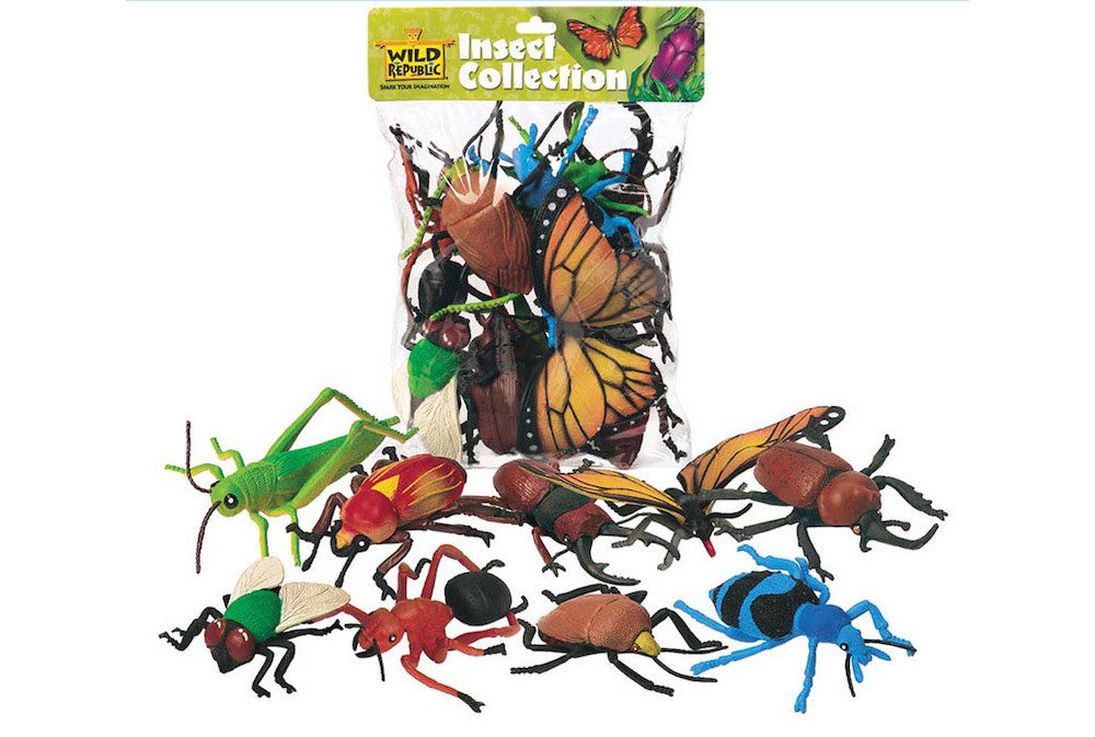 WILD REPUBLIC Bags Insects 10pc